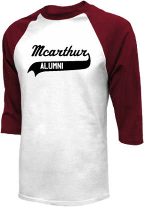 Mcarthur Middle School Raglan Shirts