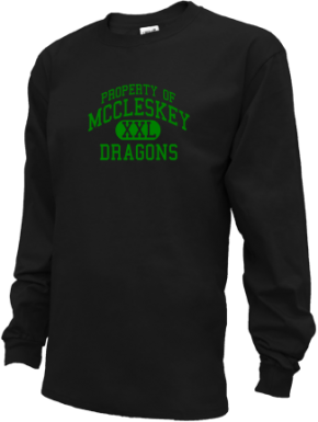 Mccleskey Middle School Kid Long Sleeve Shirts