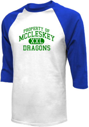 Mccleskey Middle School Raglan Shirts