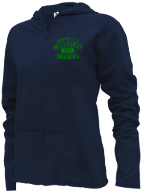 Mccleskey Middle School Girls Zipper Hoodies