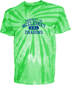 Mccleskey Middle School Kid Tie-dye T-Shirts