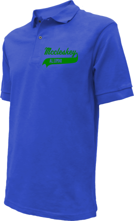 Mccleskey Middle School Embroidered Polo Shirts