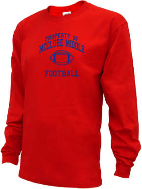 Mcclure Middle School Kid Long Sleeve Shirts