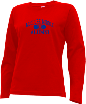 Mcclure Middle School Long Sleeve Shirts