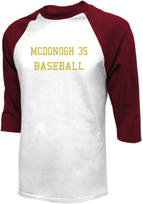 Mcdonogh 35 High School Raglan Shirts
