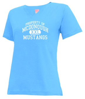 Mcdonough Elementary School V-neck Shirts