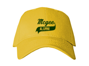 Mcgee Middle School Embroidered Baseball Caps