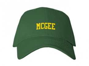 Mcgee Middle School Kid Embroidered Baseball Caps