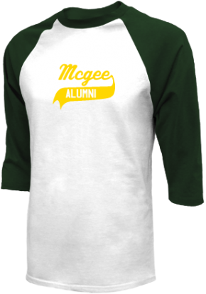 Mcgee Middle School Raglan Shirts