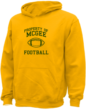 Mcgee Middle School Kid Hooded Sweatshirts