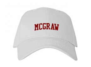 Mcgraw High School Kid Embroidered Baseball Caps