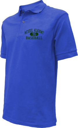 Mckeel Academy High School Embroidered Polo Shirts