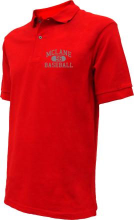 Mclane High School Embroidered Polo Shirts