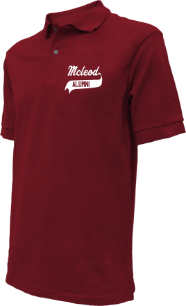 Mcleod Elementary School Embroidered Polo Shirts