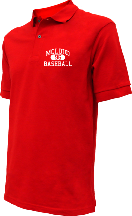 Mcloud High School Embroidered Polo Shirts