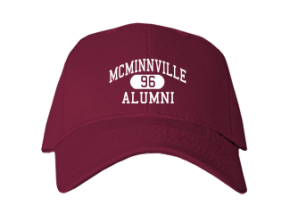 Mcminnville High School Embroidered Baseball Caps
