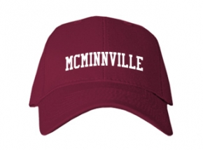 Mcminnville High School Kid Embroidered Baseball Caps