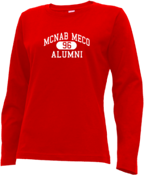 Mcnab Meco Elementary School Long Sleeve Shirts