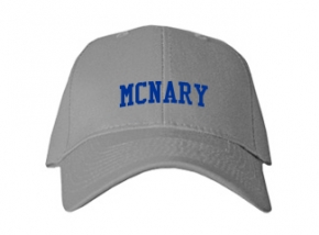 Mcnary High School Kid Embroidered Baseball Caps