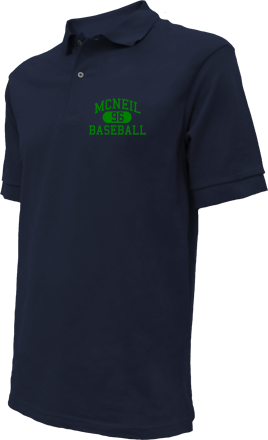 Mcneil High School Embroidered Polo Shirts