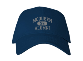 Mcqueen High School Embroidered Baseball Caps