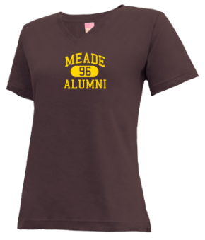 Meade High School V-neck Shirts