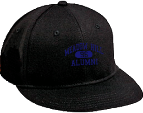 Meadow Hill Middle School Flat Visor Caps