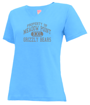 Meadow Point Elementary School V-neck Shirts