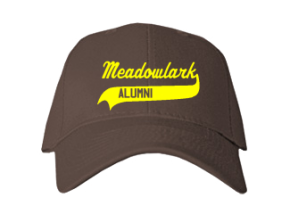 Meadowlark Elementary School Embroidered Baseball Caps