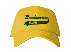 Meadowview Middle School Embroidered Baseball Caps