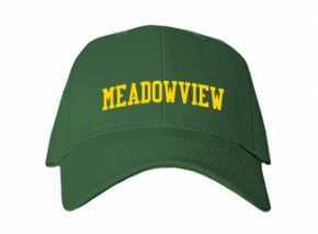 Meadowview Middle School Kid Embroidered Baseball Caps