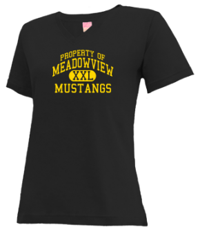 Meadowview Middle School V-neck Shirts