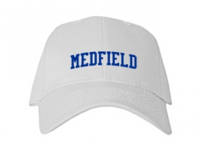Medfield High School Kid Embroidered Baseball Caps