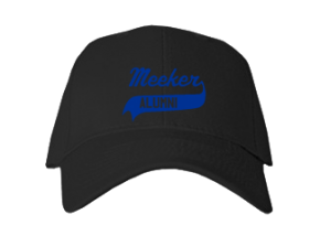 Meeker Elementary School Embroidered Baseball Caps