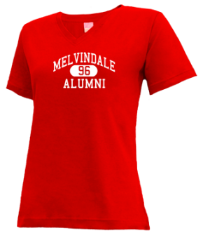 Melvindale High School V-neck Shirts
