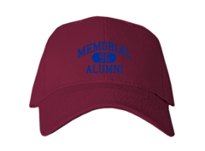 Memorial Elementary School Embroidered Baseball Caps