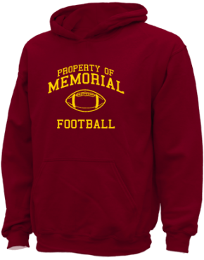 Memorial Middle School Kid Hooded Sweatshirts