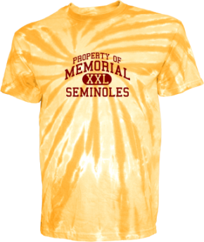Memorial Middle School Kid Tie-dye T-Shirts