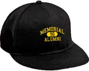 Memorial Middle School Flat Visor Caps