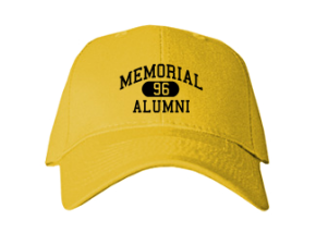 Memorial Middle School Embroidered Baseball Caps