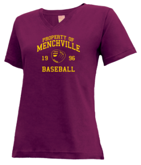 Menchville High School V-neck Shirts