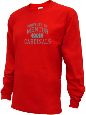 Mentor High School Kid Long Sleeve Shirts