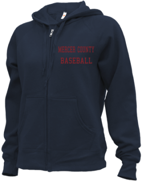 Mercer County High School Zip-up Hoodies