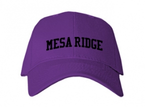 Mesa Ridge High School Kid Embroidered Baseball Caps