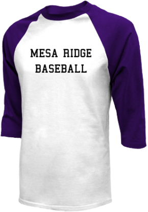 Mesa Ridge High School Raglan Shirts