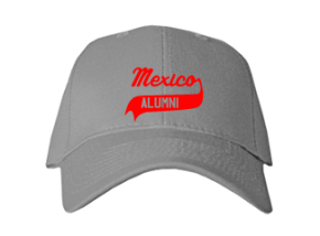 Mexico Middle School Embroidered Baseball Caps