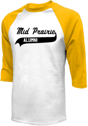 Mid-prairie Middle School Raglan Shirts
