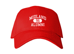 Midland High School Embroidered Baseball Caps