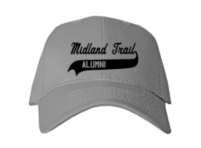 Midland Trail Elementary School Embroidered Baseball Caps