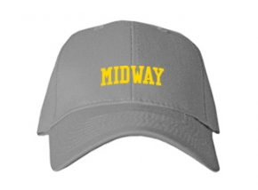 Midway High School Kid Embroidered Baseball Caps